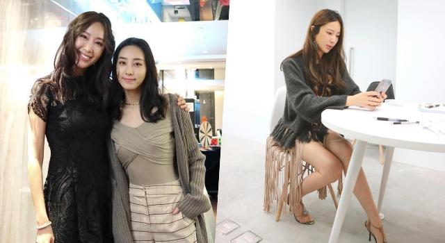 隋棠派對「蕾絲黑洋裝」辣翻天!罕見煙燻妝:回到名模時期了!