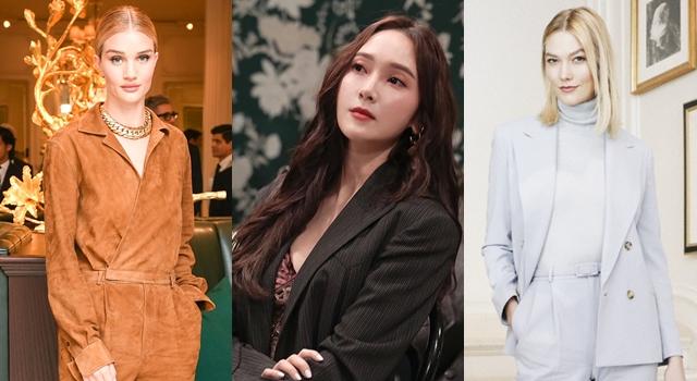 紐約時裝週》Jessica鄭秀妍看Ralph Lauren大秀,「胸前透視」狠尬超模!