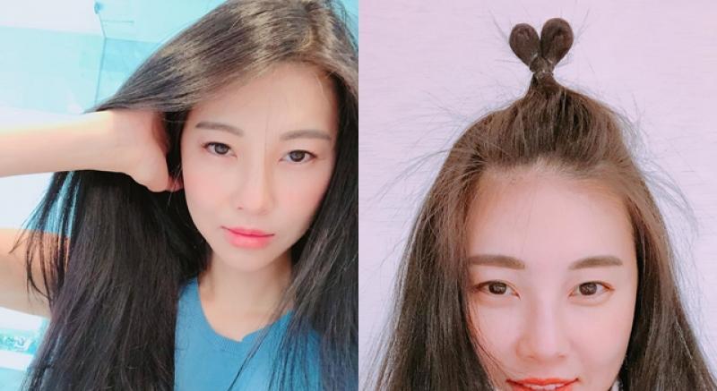 42歲孫瑩瑩綁「愛心丸子頭」竟無違和感!超凍齡靠的原來是...