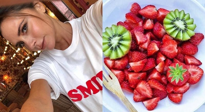 瘦小腹吃藍莓?瘦腰吃草莓?學維多利亞貝克漢這樣吃變小「腰」精!