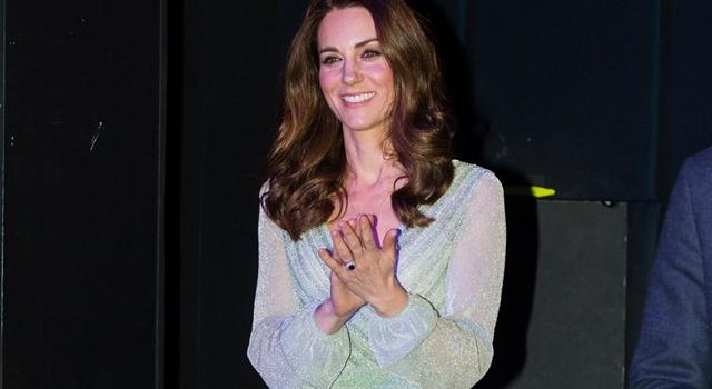 凱特王妃三穿「粉晶藍」禮服好像艾莎公主!皇室粉封為凱特色...