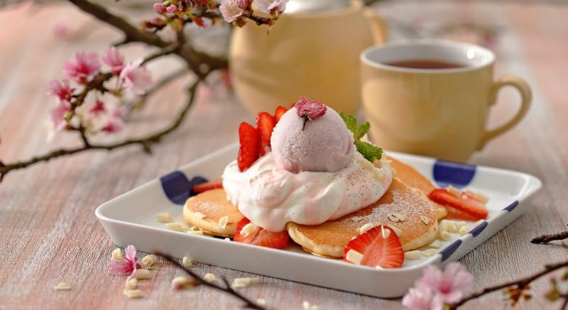 吃得到真實「櫻花花瓣」!花季推櫻花鬆餅、櫻花起司塔超夢幻!