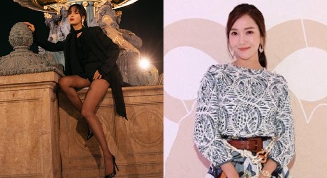 巴黎時裝週》Chloé秀場成戰場!辛芷蕾曬「馬甲線」狠尬Jessica鄭秀妍