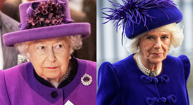 英國女王、卡蜜拉竟狠狠「撞型」了!外媒批:此舉有失禮風險...