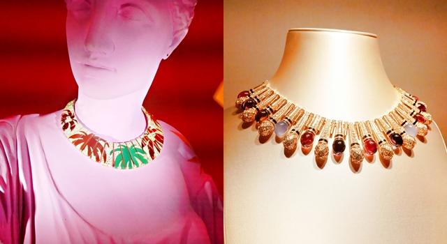把麥克風掛脖子上太可愛了!寶格麗珠寶展總價超過台幣 50 億!