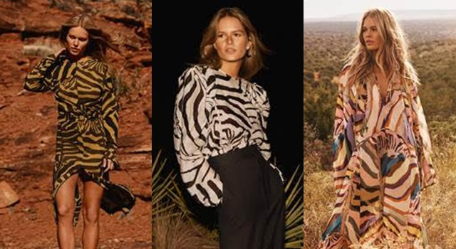 時髦旅人這樣穿!H&M春夏系列「斑馬紋當道」狂野又性感!