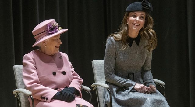凱特王妃與女王首次單獨跑行程!孫媳婦「這動作」被皇粉讚爆...