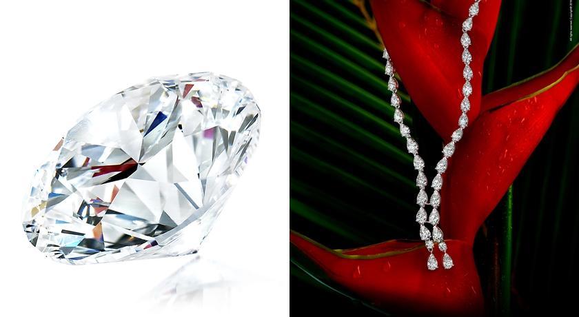 竟用鑽石做出一條「微風項鍊」!珠寶展上都是美麗自然現象...