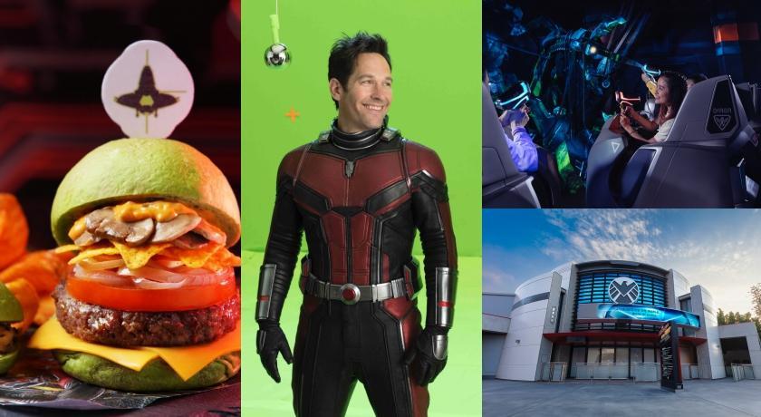 全球唯一!香港迪士尼「蟻俠與黃蜂女:擊戰特攻!」內部、周邊商品搶先看!
