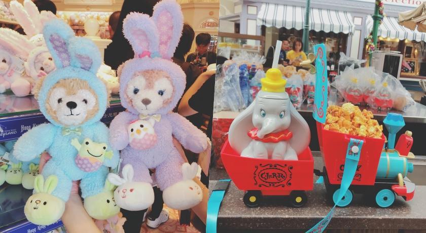 長出可愛兔耳朵的達菲熊必搶!香港迪士尼「80款春日限定」粉嫩上市!