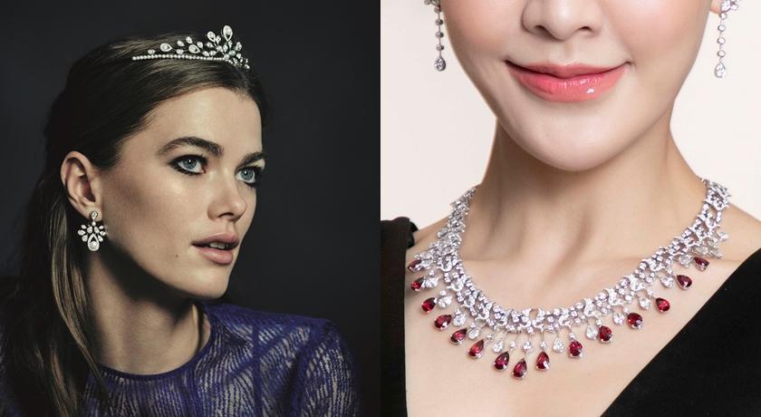 CHAUMET 頂級珠寶展全場總價近七億!連喬妹的項鍊也來了...