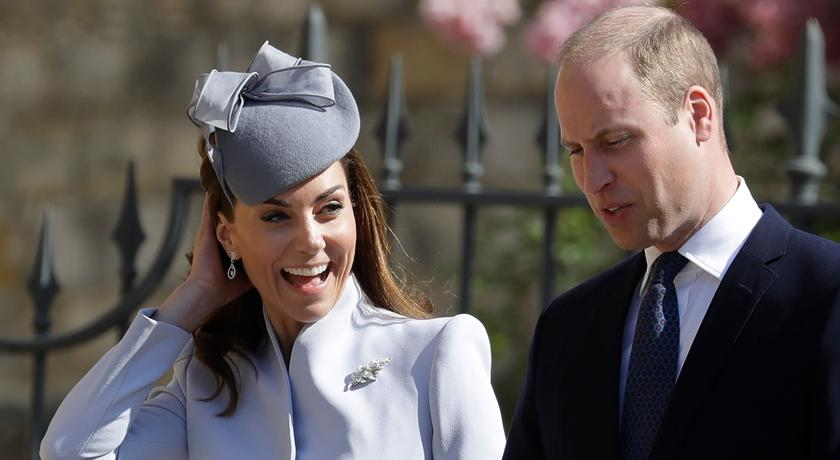 遭爆婚變後首露面!凱特王妃穿「淺藍色」套裝是個宣示?