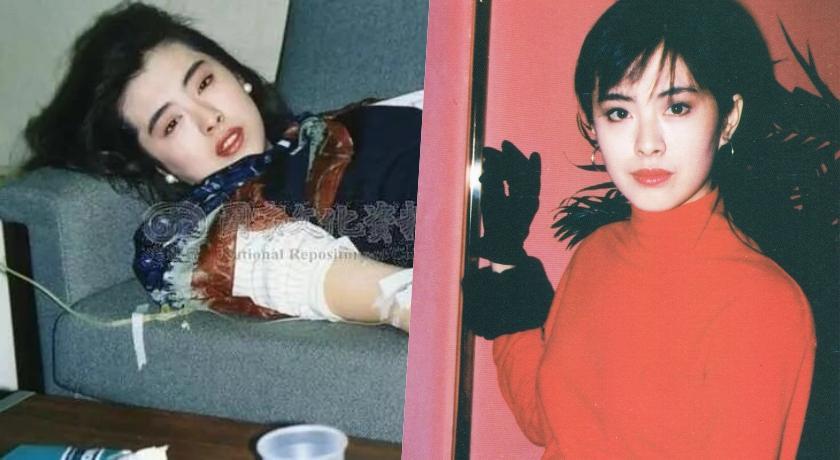 王祖賢28年前「點滴照」瘋傳!粉絲震撼:連生病都美得像仙女!