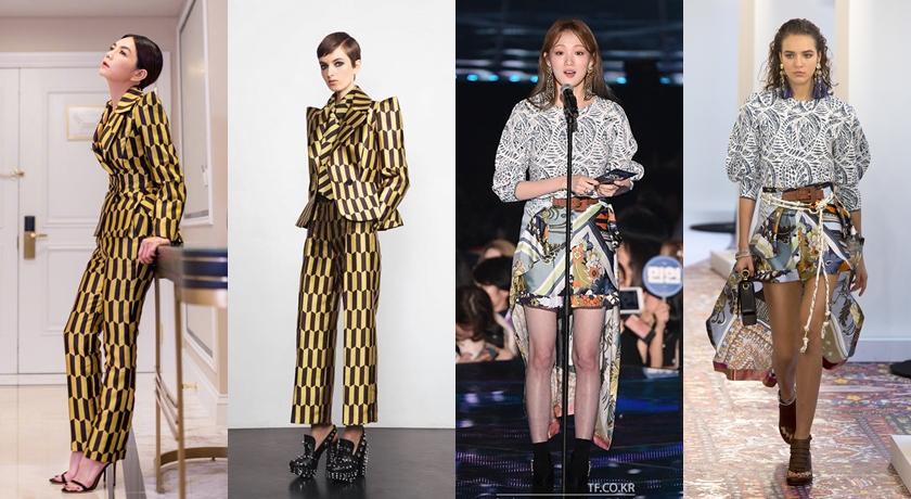 【時尚前後台Top 5】44 歲李玟穿西裝玩反串?巴西超模美乳凍齡了!