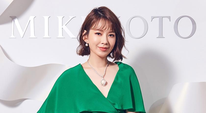 Melody現身MIKIMOTO珠寶展!披3100萬珍珠項鍊直呼:好幸福!