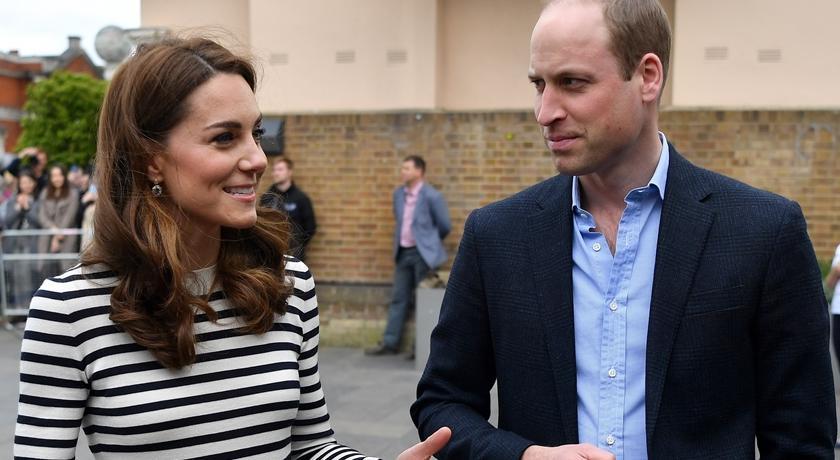 凱特王妃談小姪子!笑得燦爛被拍到「這個動作」像在拍廣告...