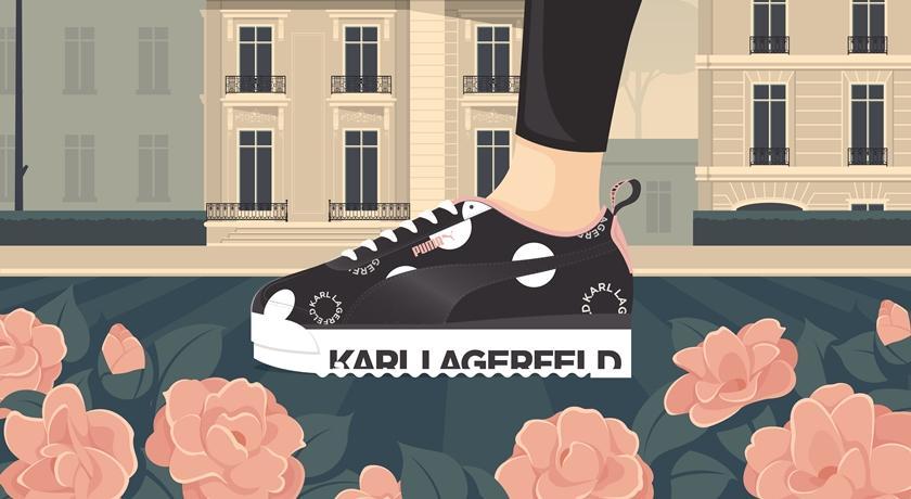 時尚大帝卡爾與 PUMA 一起設計鞋子!粉絲暴動:又要排隊了...