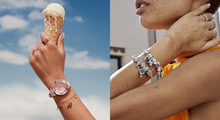 有螃蟹、海馬還有冰淇淋!夏季限定「吊飾手鍊」少女心大噴發...