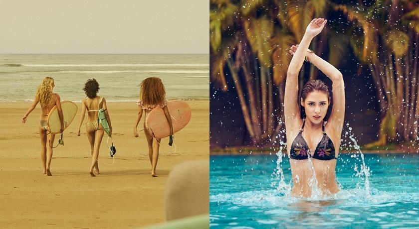 大胸豐腴女孩也能曬「比基尼照」!適合女生的五款夏日必備泳裝
