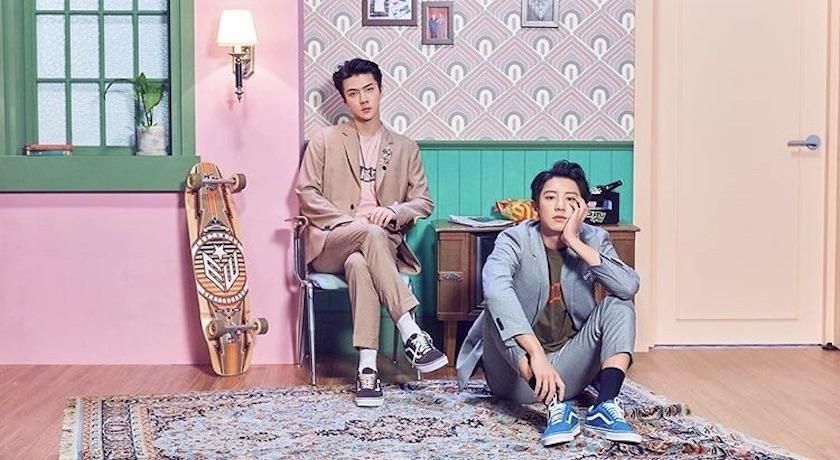 「LV親兒子」不跑趴了?EXO這兩位時尚咖長腿歐巴準備回歸