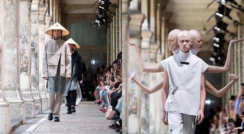 千手觀音、阿修羅躍上巴黎時裝週!網友神回令人笑噴