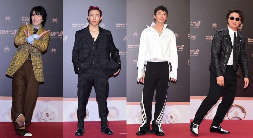 【金曲紅毯11】蕭敬騰、信等男星封五帥!無趣「西裝正裝」讓造型師評: OUT