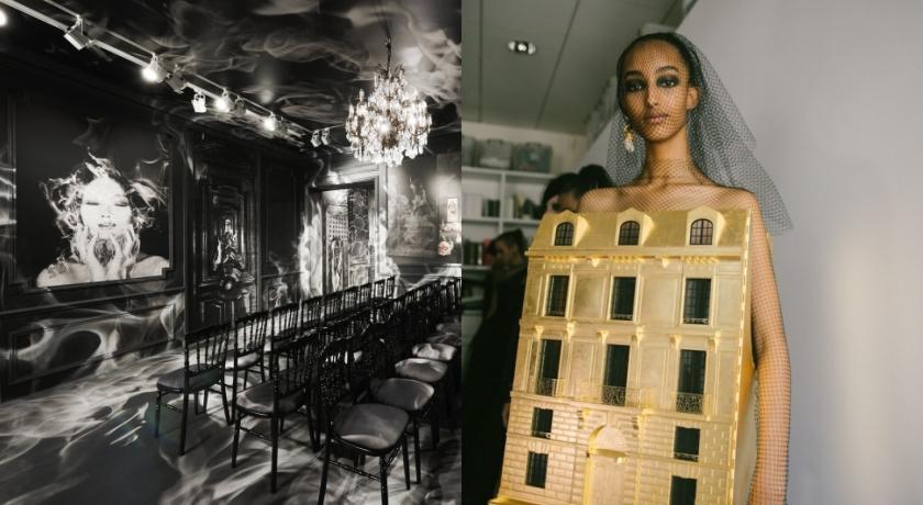 Dior高訂秀場超陰森根本「安娜貝爾」的家!還驚見話劇道具?