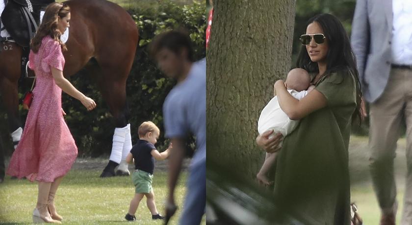 路易小王子讓凱特王妃追著跑!英皇室萌孩們難得一起現身了