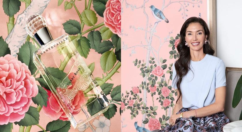 宛如滾在玫瑰花床的香味!絕版的經典香水結合百年壁紙工藝再現