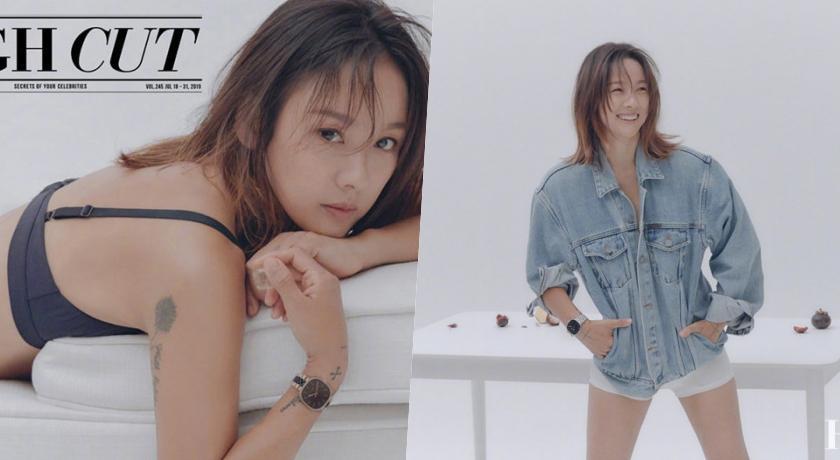 韓國最辣回歸!李孝利單穿吊帶褲「上身全裸」一側身...美胸被看光