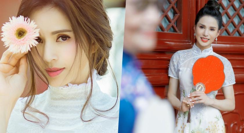 45歲「最美小龍女」!李若彤穿超貼身旗袍解放驚人水蛇腰