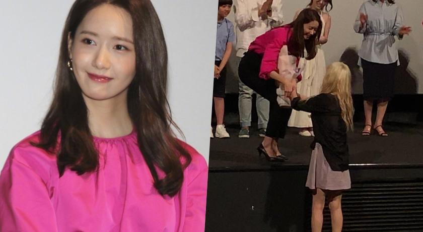 太妍驚喜現身潤娥電影試映!一個側身「超兇S曲線」火辣現形