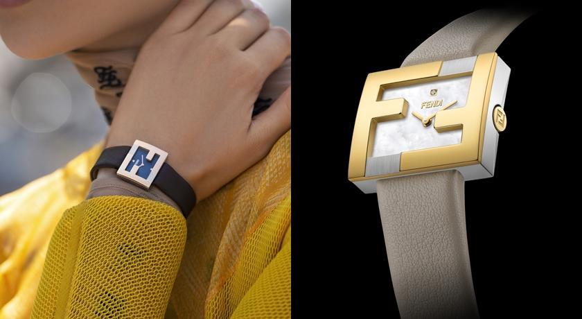 女子錶》眾女星瘋狂的 FENDI「FF」推腕錶!還有兩顆鑽石好閃