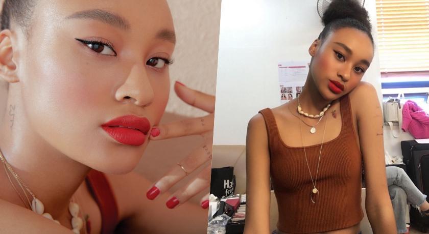 非洲混血 model 韓國爆紅!叛逆感超美唇色粉絲都在問是哪一支