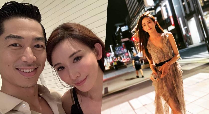 林志玲婚後再合體AKIRA!「蕾絲透膚」飄仙氣被抓包穿情侶裝放閃