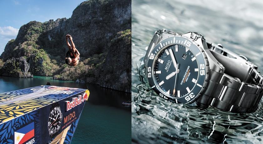 戴上「海洋之星」懸崖跳水超震撼!MIDO 潛水錶挑戰最高 CP 值