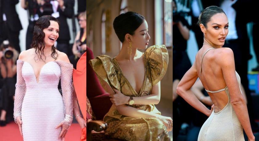 2019威尼斯影展開幕!影后開深V、「維密超模」相約全裸背紅毯比美