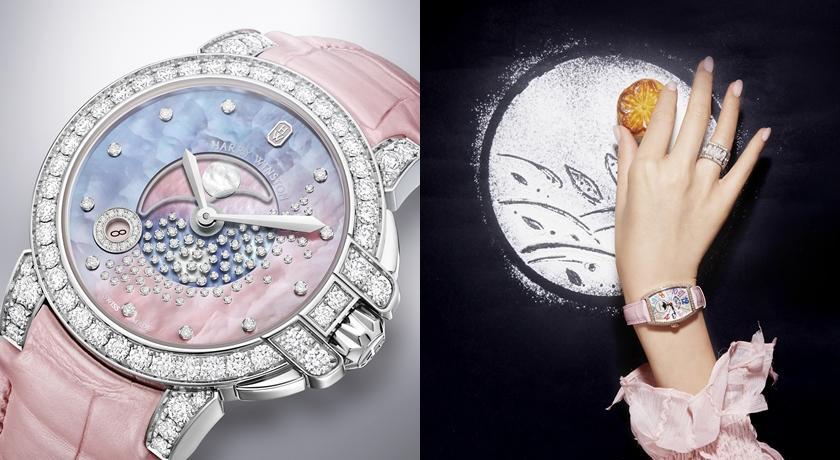 快看有月亮在手錶上!戴上浪漫「月相錶」女性賀爾蒙瞬間激增