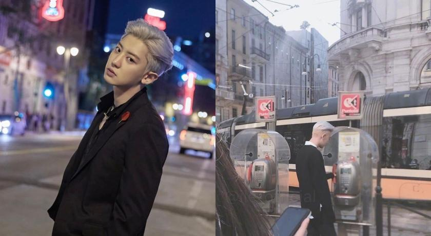 米蘭巧遇「野生」韓團EXO燦烈!路人驚豔:這帥哥是明星嗎?
