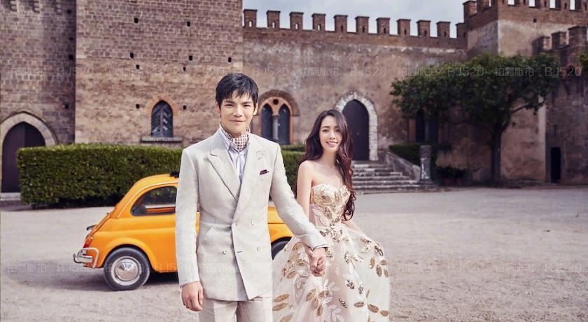 向佐、郭碧婷結婚了!「往後餘生只有你」甜曬超夢幻婚紗照