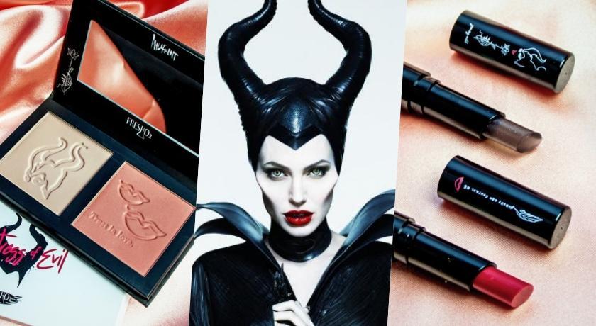 MIT彩妝首度聯名《黑魔女》!性感裘莉的「暗黑系彩妝」百元就能入手