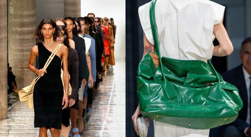 米蘭時裝週》受夠小包包?配件新天王Bottega Veneta巨包超吸睛
