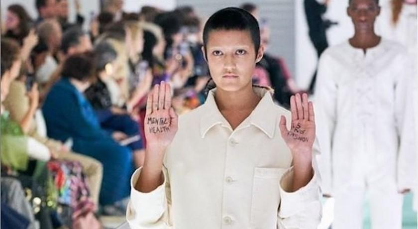 女模控 GUCCI 消費精神病患   伸展台上突抗議