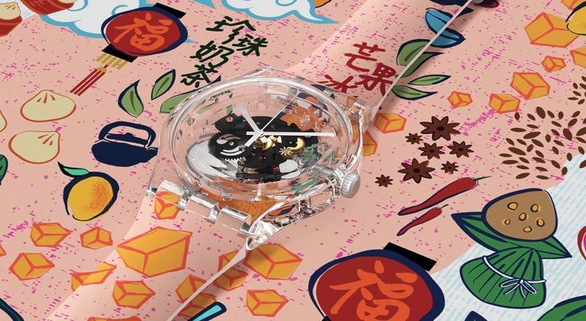 手錶上竟出現珍珠奶茶跟鳳梨酥!台灣小吃限定腕錶可愛度爆棚