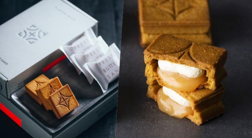 東京瘋搶焦糖奶油夾心餅「PRESS BUTTER SAND」來了!限定快閃第一天就要衝