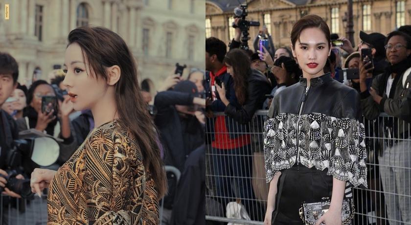 巴黎時裝週》楊丞琳率性褲裝比拚迪麗熱巴下身失蹤!Louis Vuitton重返美好年代