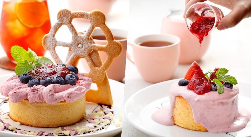 美麗華聯名甜點超可愛!摩天輪餅乾搭配莓果厚鬆餅秋天約會必吃