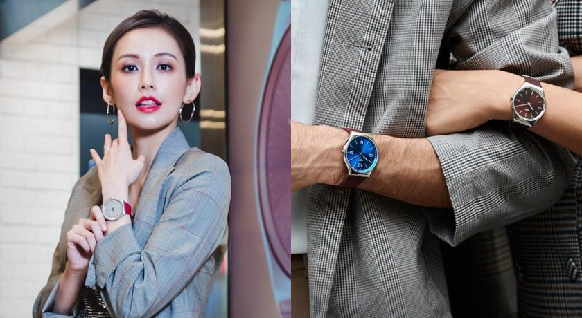 女子錶》戴起來就像手環!秋冬一定要入手的「大錶」出現了...
