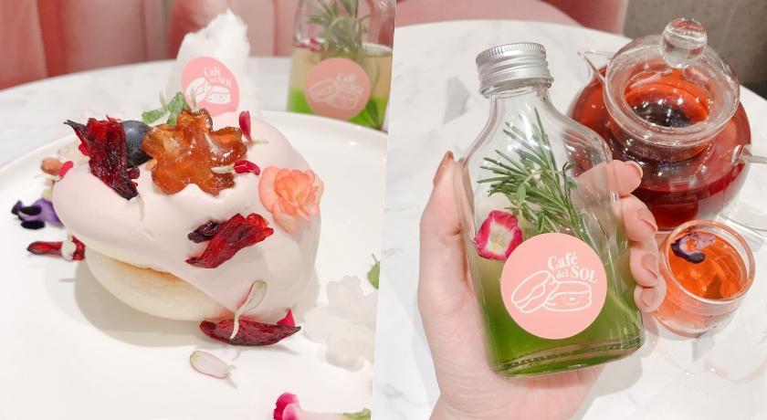這是仙女的食物吧!福岡人氣鬆餅推出「洛神花園套餐」美到捨不得吃