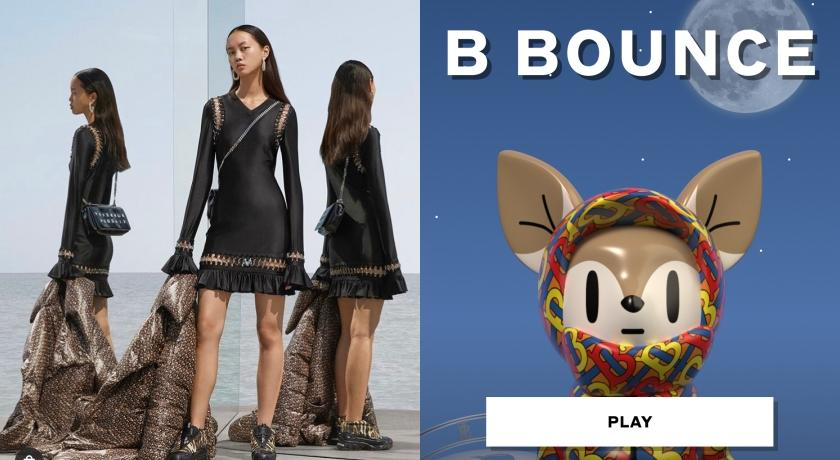連打電動都要超時髦!Burberry推出首款線上遊戲「B Bounce」